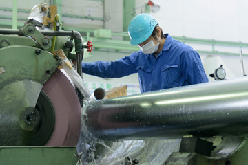 Seimitsu Industrial Co., rolls and shaft